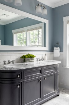 Vintage paint colors bathroom ideas (32)
