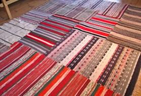 Vintage swedish rag rugs tables ideas 49