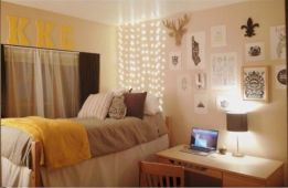 Visually pleasant yellow and grey bedroom designs ideas 03