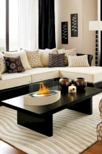 White furniture living room ideas for apartments 14