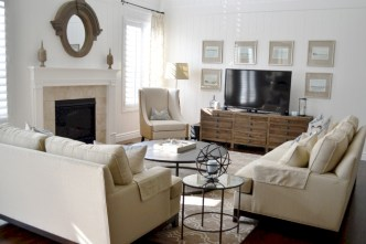 White furniture living room ideas for apartments 15