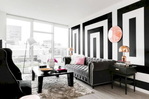 White furniture living room ideas for apartments 24