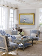 White furniture living room ideas for apartments 31