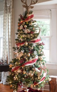 Brilliant ideas christmas tree decoration ideas with ribbon 11