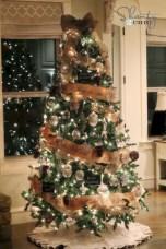 Brilliant ideas christmas tree decoration ideas with ribbon 22