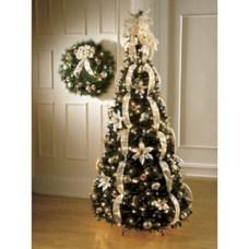Brilliant ideas christmas tree decoration ideas with ribbon 25