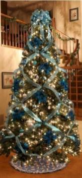 Brilliant ideas christmas tree decoration ideas with ribbon 34