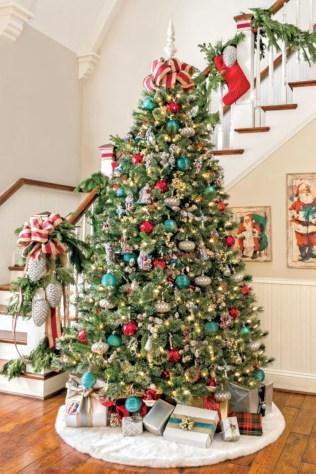Brilliant ideas christmas tree decoration ideas with ribbon 40