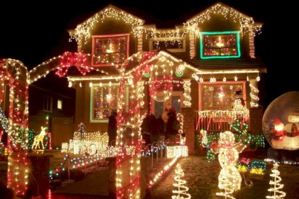 Cool homemade outdoor christmas decorations ideas 26
