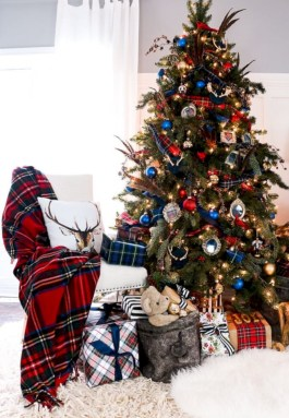 Cozy christmas decoration ideas for your apartment 13