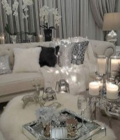 Cozy christmas decoration ideas for your apartment 18