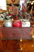 Creative diy christmas table centerpieces ideas 03