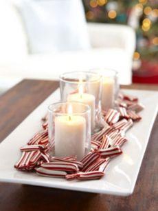 Creative diy christmas table centerpieces ideas 05