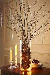 Creative diy christmas table centerpieces ideas 19