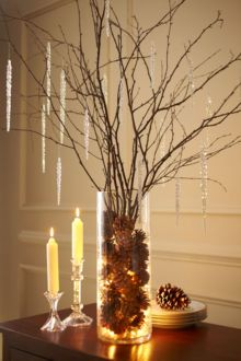 Creative diy christmas table centerpieces ideas 19