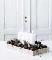 Creative diy christmas table centerpieces ideas 24