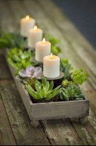 Creative diy christmas table centerpieces ideas 25