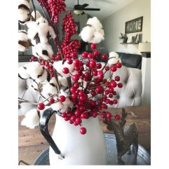 Creative diy christmas table centerpieces ideas 29