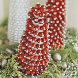 Easy christmas fruit tree centerpieces ideas 09