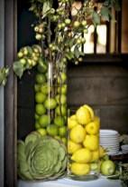 Easy christmas fruit tree centerpieces ideas 16