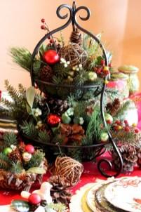 Easy christmas fruit tree centerpieces ideas 30