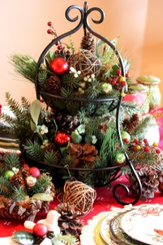 Easy christmas fruit tree centerpieces ideas 30