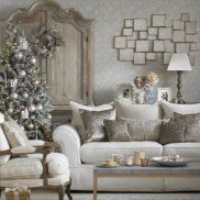 Inspiring chabby chic christmas decoration ideas 08