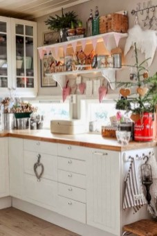 Inspiring chabby chic christmas decoration ideas 24