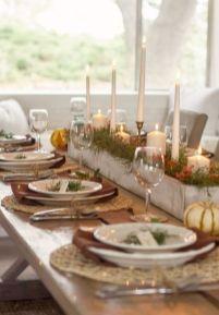 Inspiring farmhouse christmas table centerpieces ideas 10