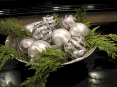 Minimalist christmas coffee table centerpiece ideas 07