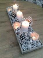 Minimalist christmas coffee table centerpiece ideas 17
