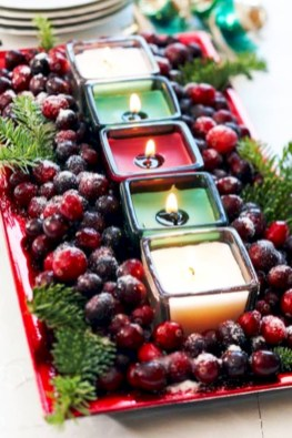 Minimalist christmas coffee table centerpiece ideas 34