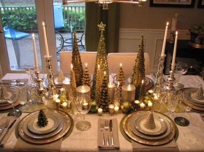 Modern christmas table centerpieces ideas you will totally love 16