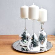 Modern christmas table centerpieces ideas you will totally love 34