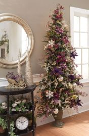 Romantic christmas tree wedding centerpieces ideas 23