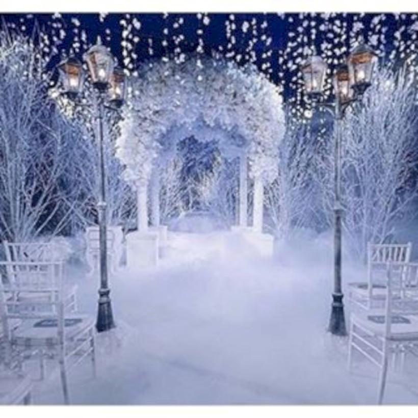 Spectacular winter wonderland wedding decoration ideas 26 round spectacular winter wonderland wedding decoration ideas 26 junglespirit Image collections