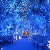 Spectacular winter wonderland wedding decoration ideas (8)