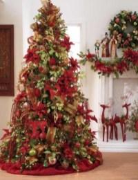 Stunning gold christmas tree decoration ideas 03