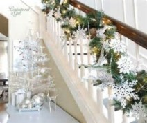 Stylish christmas centerpieces ideas with ornaments 16