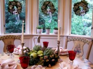 Stylish christmas centerpieces ideas with ornaments 41