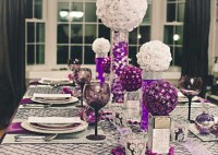 Stylish silver and white christmas table centerpieces ideas 13