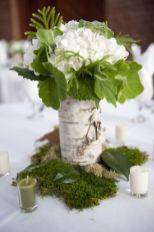 Totally adorable white christmas floral centerpieces ideas 08