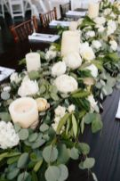 Totally adorable white christmas floral centerpieces ideas 09