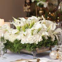 46 Totally Adorable White Christmas Floral Centerpieces ...
