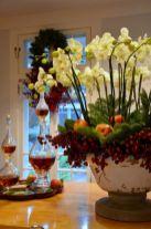 Totally adorable white christmas floral centerpieces ideas 23