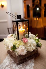 Totally adorable white christmas floral centerpieces ideas 32