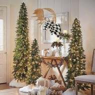 Totally inspiring small christmas tree decoration ideas for space saving 02