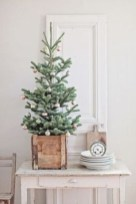 Totally inspiring small christmas tree decoration ideas for space saving 10