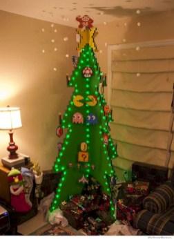 Unique christmas tree decoration ideas for your alternatives 19
