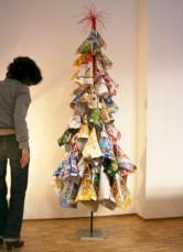 Unique christmas tree decoration ideas for your alternatives 22